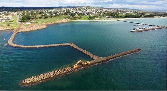 Safe Harbour Construction Underway