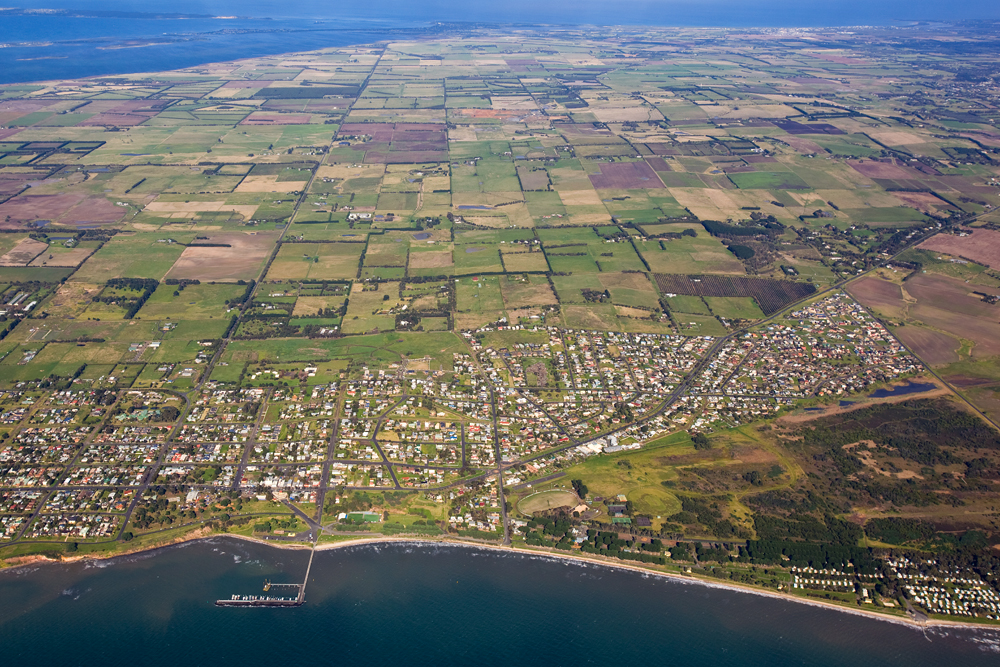 Portarlington Looking South