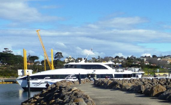 Portarlington Ferry in Safe Harbour