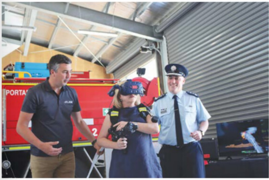 Portarlington CFA Fire station FLAIM test